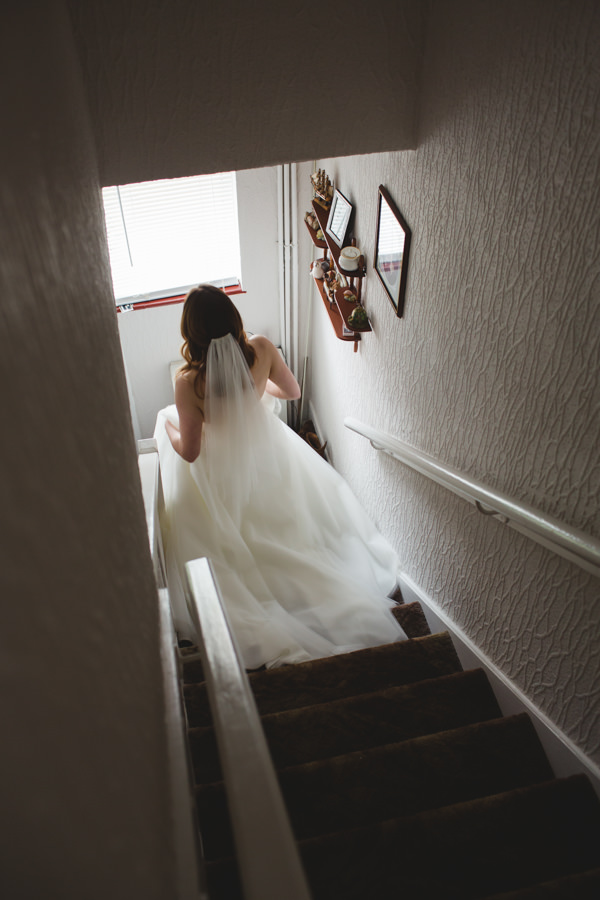 Mismatched City Chic Wedding Veil Bride http://mackphotography.co.uk/