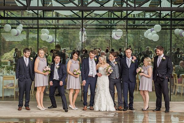 Personal Elegant Dales Wedding Lilac Bridesmaids http://pauljosephphotography.co.uk/
