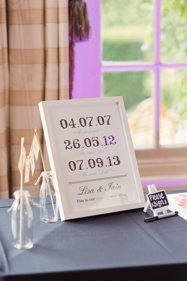 Timeless Modern Hydrangea Wedding Sign Words http://www.cottoncandyweddings.co.uk/