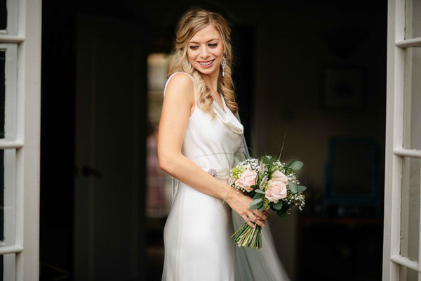 Charlie Brear Bride Dress Stylish Relaxed Hertfordshire Wedding http://www.mikiphotography.info/