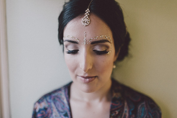 Beautiful English Indian Bride Make Up Wedding http://www.scuffinsphotography.com/