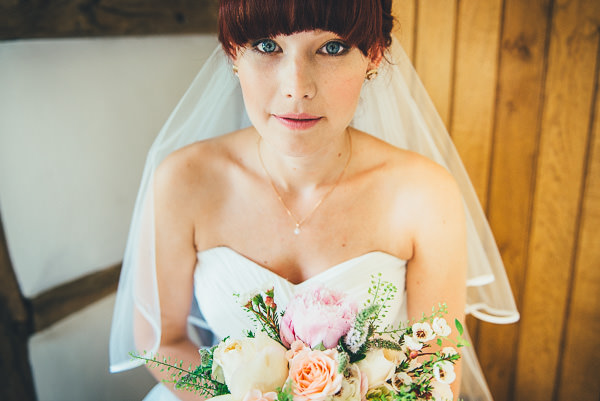 """Our Journey"" Personal Relaxed Fun Wedding Fringe Bangs Hair Bride Pretty Make Up  http://nicolathompsonphotography.co.uk/"