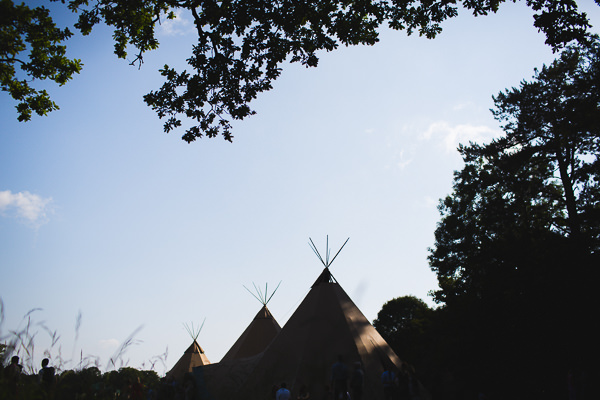 Outdoor Camping Tipi Orange Wedding http://kategrayphotography.com/