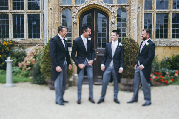 Luxe Traditional Groom Suit Attire Pink Gold Wedding http://www.annataylorphotography.co.uk/