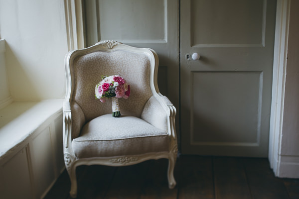 Luxe Traditional Pink Gold Wedding Rose Bridal Bouquet http://www.annataylorphotography.co.uk/