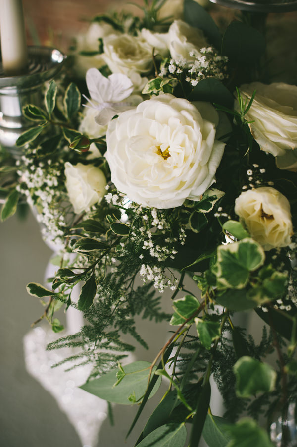 Home Grown White Flower Filled Wedding http://www.alextentersphotography.co.uk/