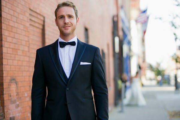 Simple Elegant Black Tie Minnesota Wedding Tuxedo Groom  http://www.erinjohnsonphotoblog.com/