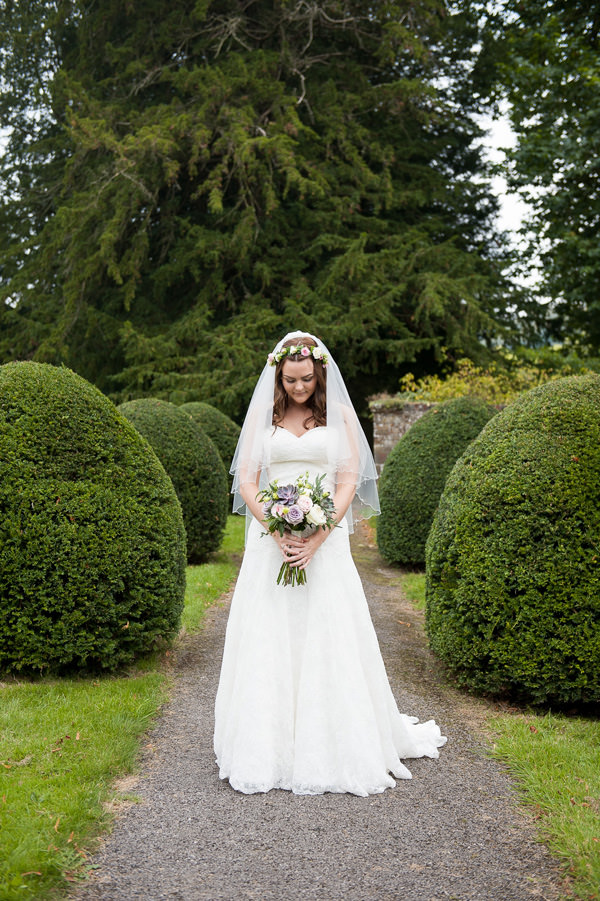 Lace Lillian West Dress Bride Pretty Country Garden Wedding http://fionasweddingphotography.co.uk/