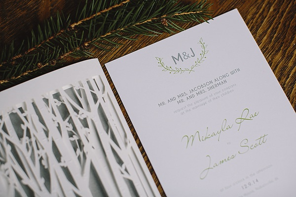 Cosy Woodsy House Wedding Ideas Stationery http://www.jennifervanelk.com/