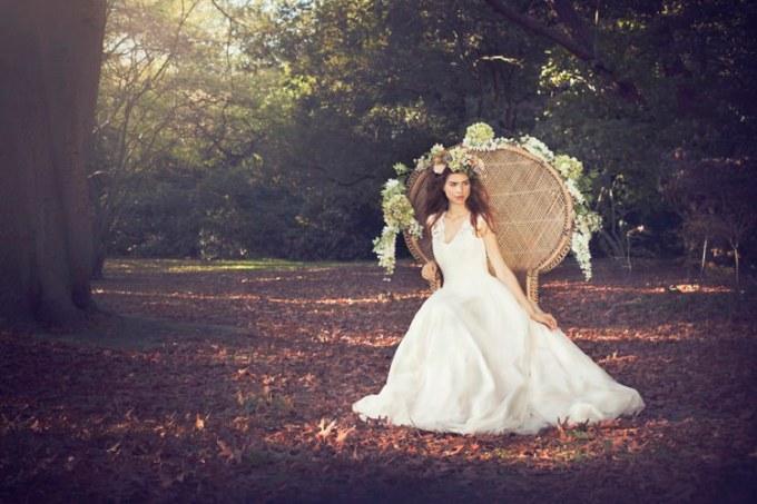 "SHANNA MELVILLE - Wedding Dress - Collection AW 2014 - 1 ""Chloe"""