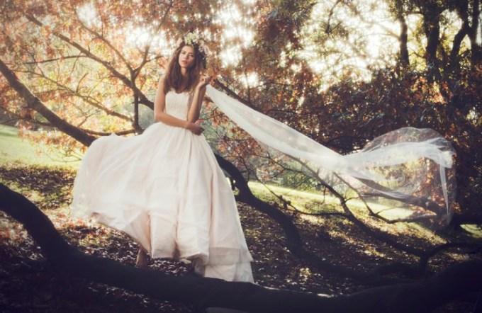 "SHANNA MELVILLE - Wedding Dress - Collection AW 2014 - 3 ""Chloe"""