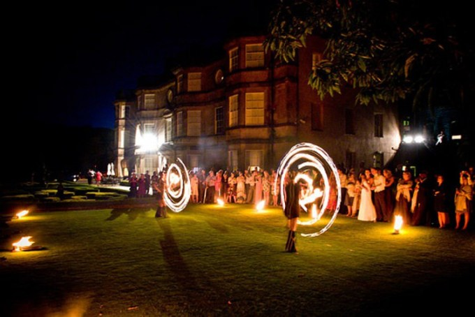 Wedding Entertainment Ideas fire performers