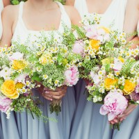 Super Pretty Candy Coloured Country Marquee Wedding http://www.carlybevan.co.uk/
