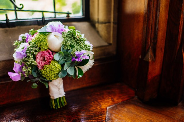 Peony Sweet Peas Lilac Green Bouquet Flowers Bridal Bride Classic Timeless Oriental Twist Wedding http://www.aaroncollettphotography.co.uk/