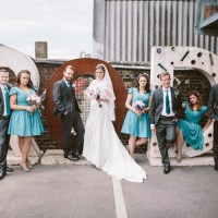 Personal Creative Fun Warehouse London Wedding http://patkelmanphotography.com/