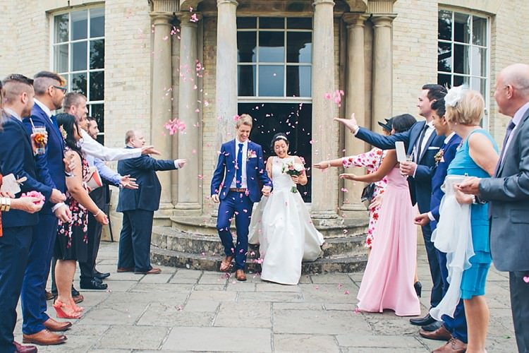 Pink Confetti Relaxed Happy Classic Pink Afternoon Tea Wedding http://www.firsthandphotography.co.uk/