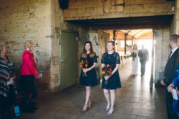 Navy Blue Bridesmaid Dresses Cotswolds Barn Laid Back Stylish Wedding http://albertpalmerphotography.com/