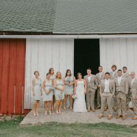 Fresh DIY Orchard Rustic Barn Indiana Wedding http://www.chloejennings.com/