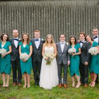 Quaint Home Made Farm Big Party Wedding http://www.emmacasephotography.com/