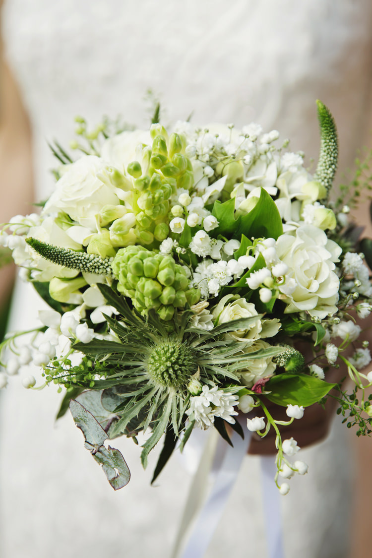 Green Bouquet Flowers Bride Bridal Natural Country Pub White Wedding http://www.gemmawilliamsphotography.co.uk/