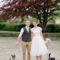 Quirky Vintage Village Fete Home Made Wedding http://www.stottandatkinson.com/