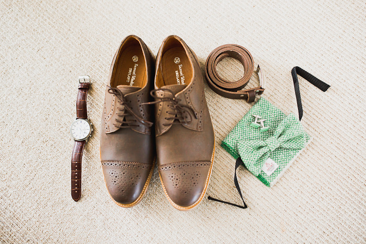 Groom Accessories Shoes Brogues Tweed Bow Ties Fresh Country Pink Green Wedding http://www.whitestagweddings.com/