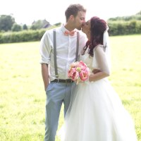 Sweet Homespun Colourful Pastel Wedding http://www.natashacadman.com/