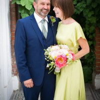 Back Garden Home Made Jazz Country Wedding http://jamesgristphotography.co.uk