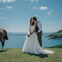Casual Summery Rustic Beach Wild Horses Wedding http://www.jasonmarkharris.com/