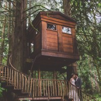 Treehouse Forest Wedding Washington http://stacypaulphotography.com/