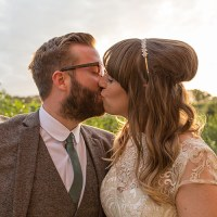 Sage Green & Cream Homemade Knitted Wedding http://www.lucyrosephotography.com/