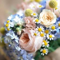 Pretty Home Made Pastel Floral Wedding Whimsical Wonderland Weddings