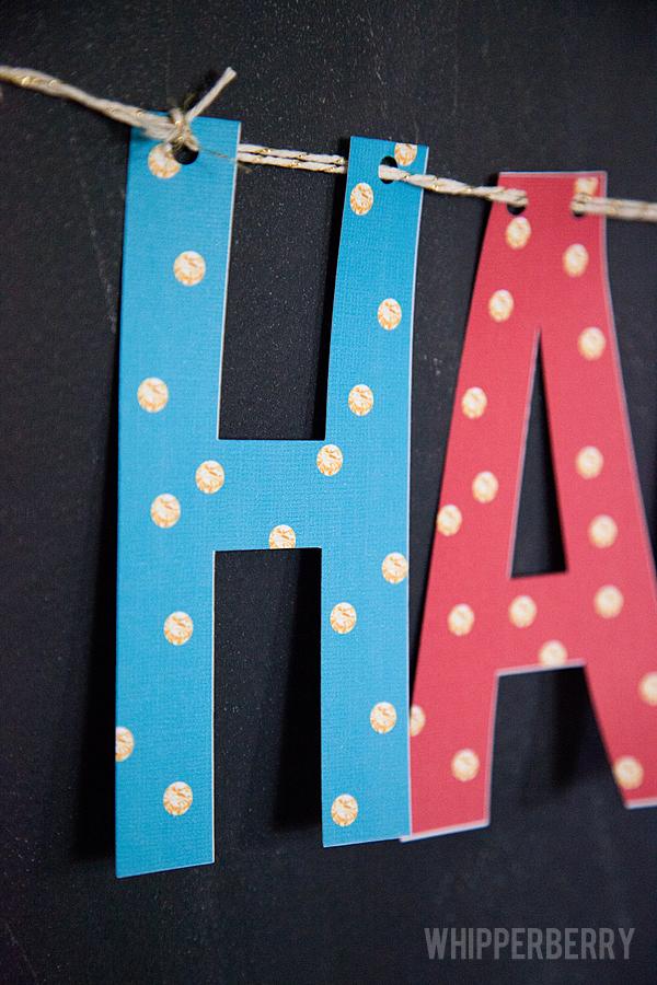 Gold Polka Dot Happy Birthday Banner + 7 More Free Birthday
