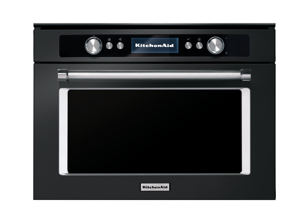 Combination Microwave Oven Black Stainless Steel Combi Microwave Oven 45 Cm New Kmqcxb