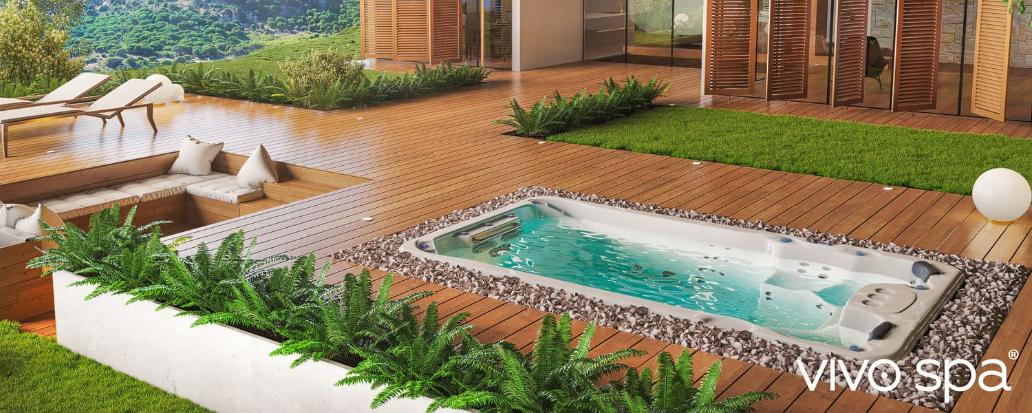 Whirlpool Outdoor Swim Spa Swim Spas 365 Tage Fitness Entspannung Whirlpool Center