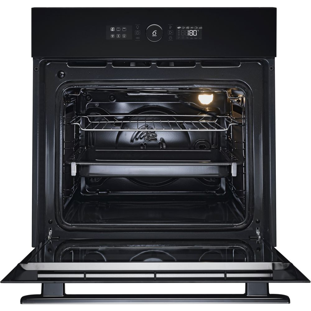 Whirlpool Oven Symbolen Whirlpool Absolute Built-in Oven In Black Akz 6230 Nb
