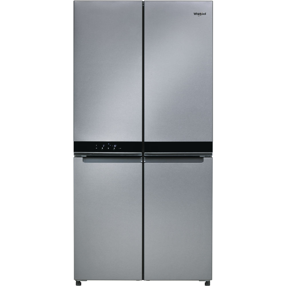 Fridge Freezer Whirlpool W Collection 4 Doors Wq9 B1l Fridge Freezer In Stainless