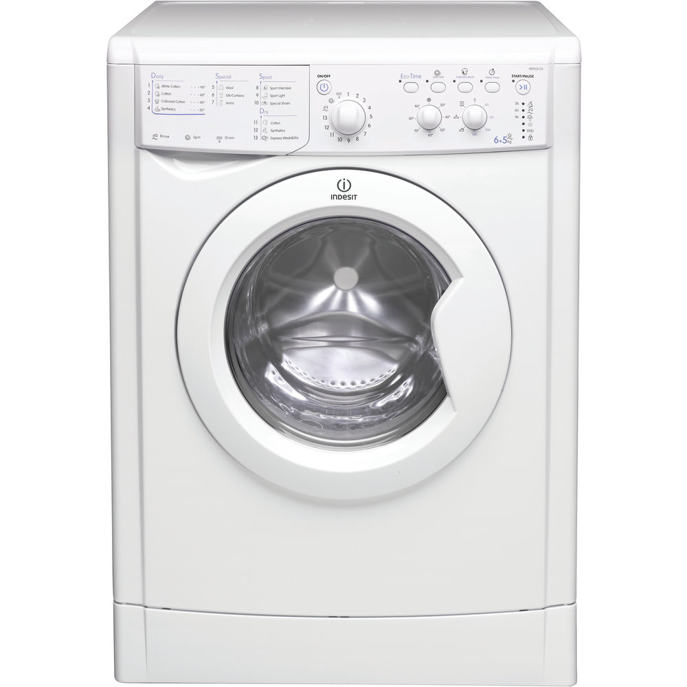 Indesit Iwdc 6125 Indesit Ecotime Iwdc 6125 Washer Dryer In White Iwdc 6125 Uk