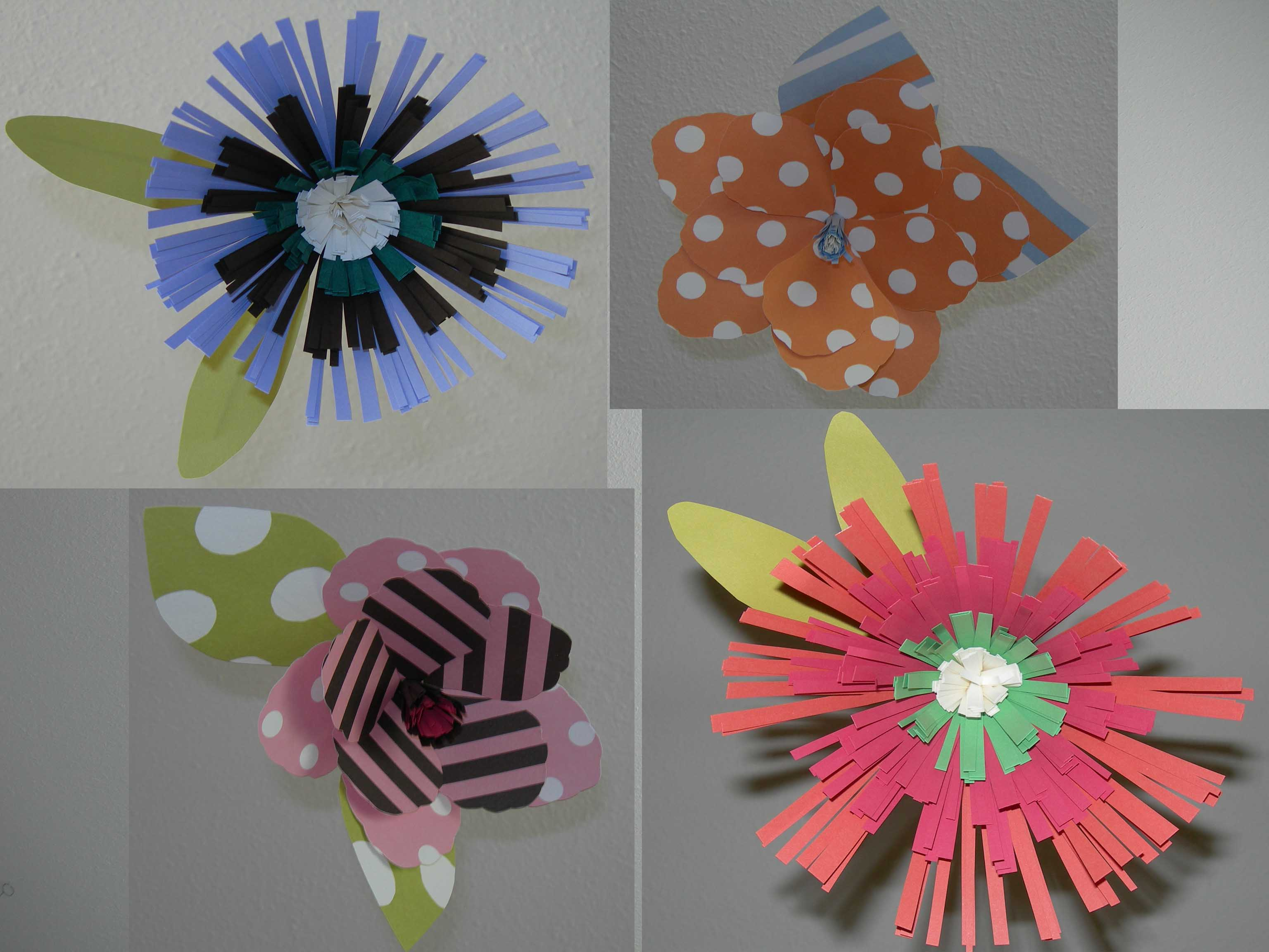 Easy construction paper crafts ivoiregion how to make flowers from construction paper 28 images disdressed april flowers construction mightylinksfo