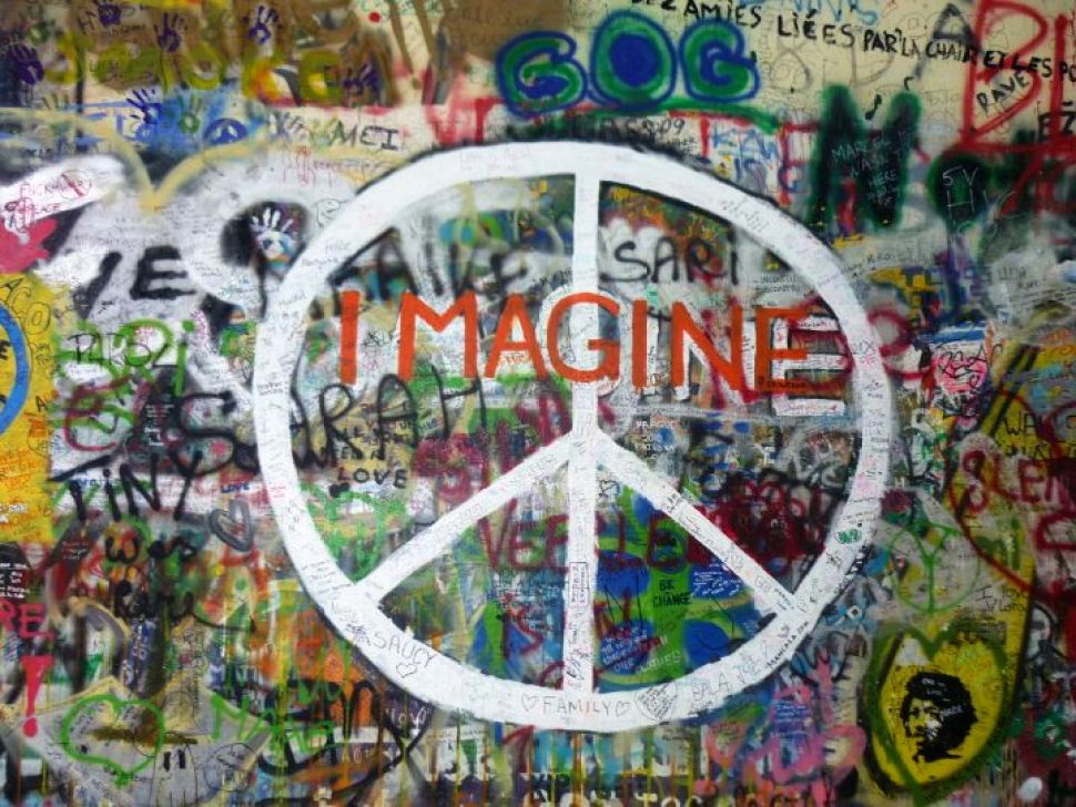 imagine, john lennon wall