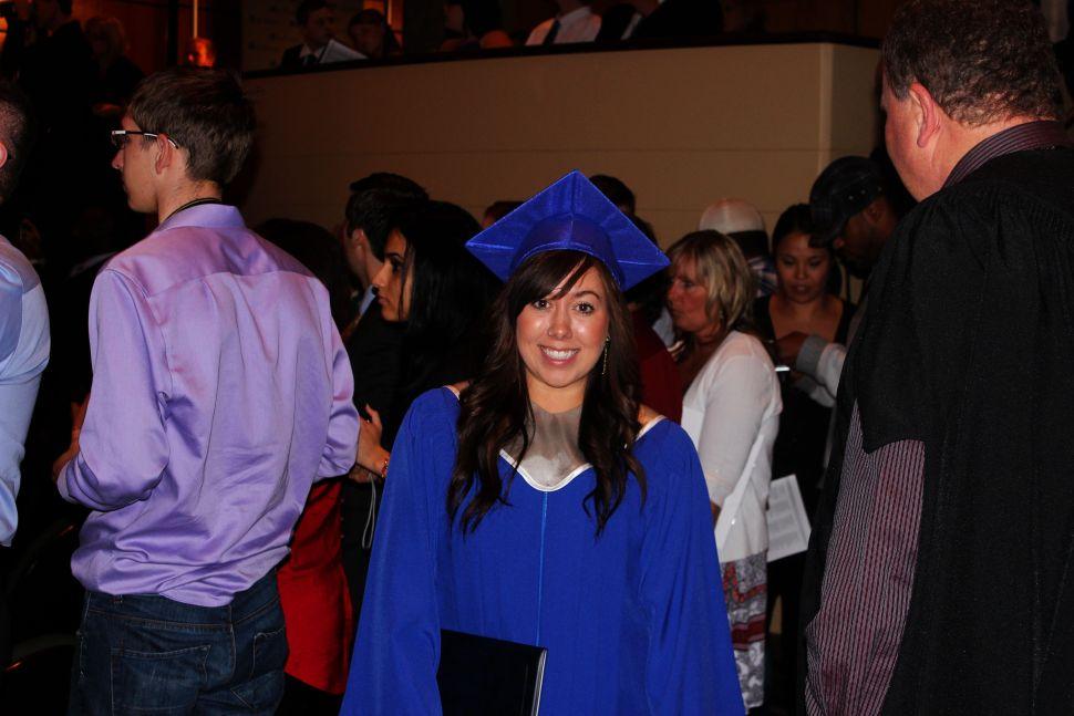 Social Work graduate, me!