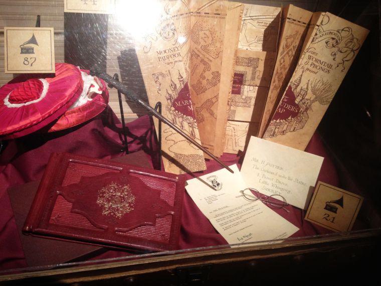 The Marauder's Map, Harry's Photo Album, etc.