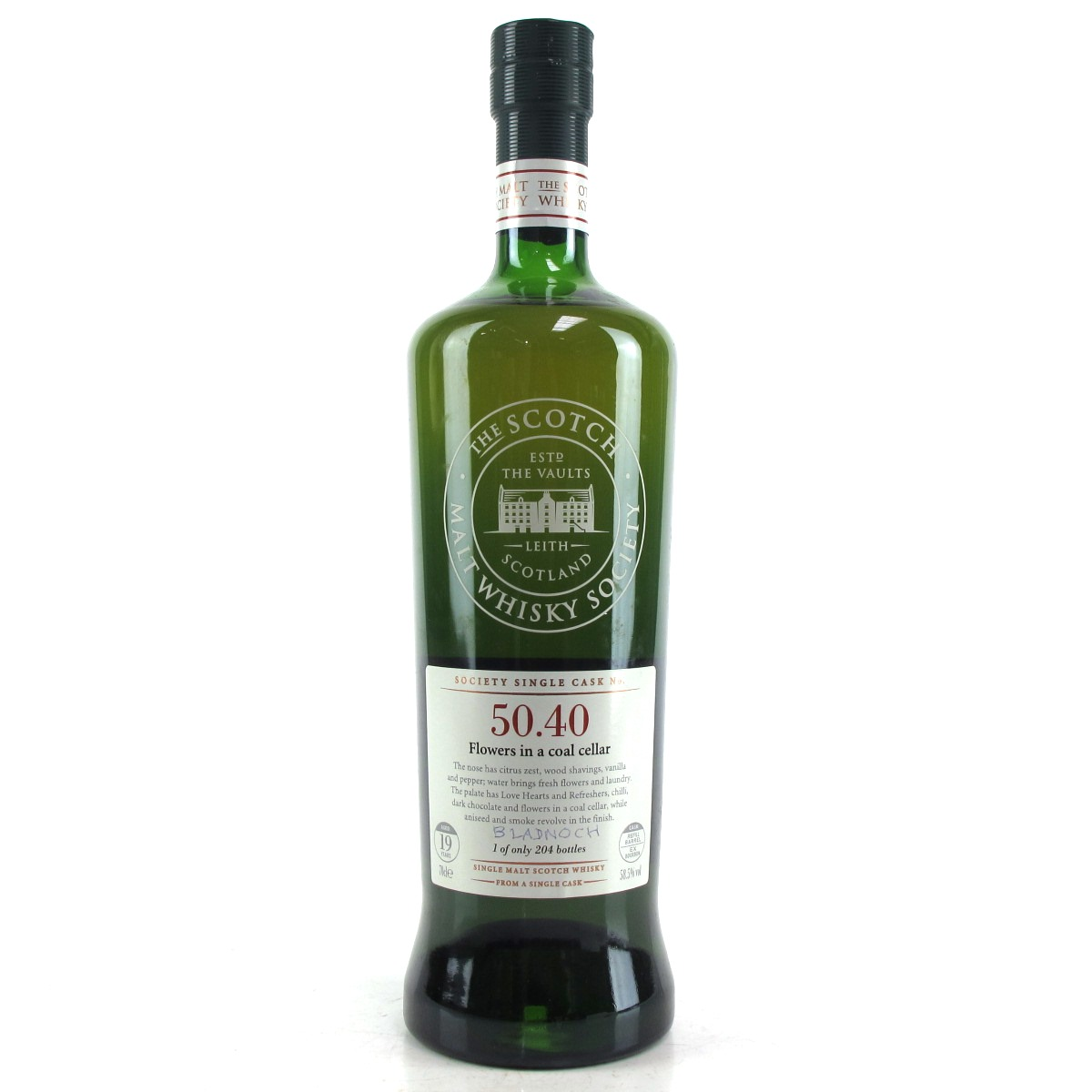 50*40 Bladnoch Smws 19 Year Old 50 40 Whisky Auctioneer