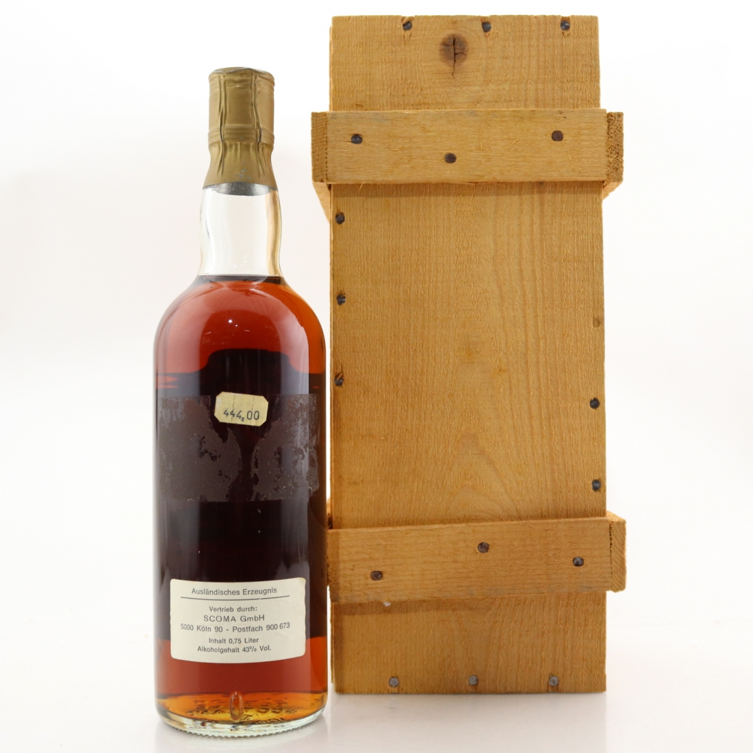 Whiskey Köln Macallan 1948 1961 Royal Marriage 1981 Whisky Auctioneer