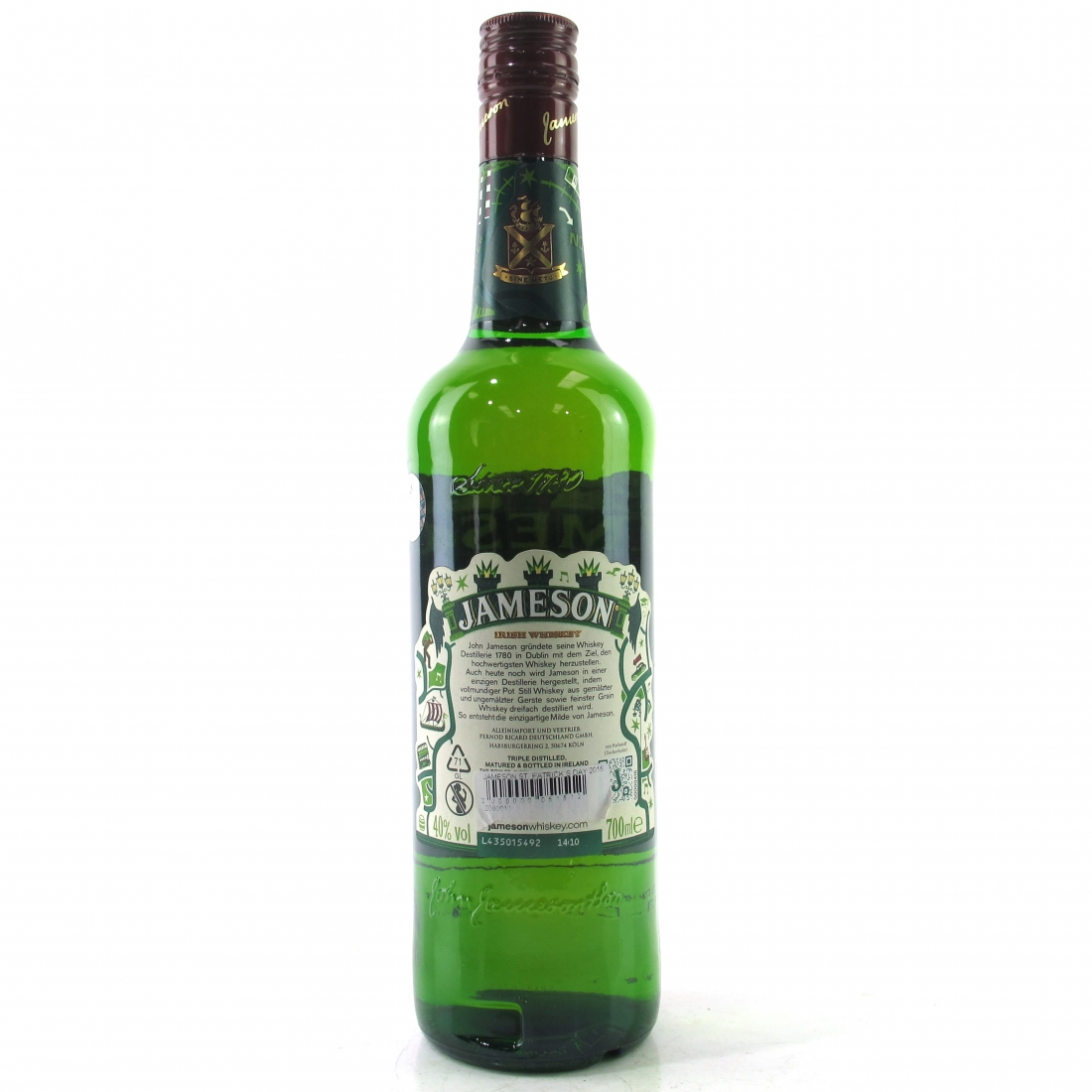 Whiskey Köln Jameson Limited Edition St Patrick S Day 2015 Whisky Auctioneer