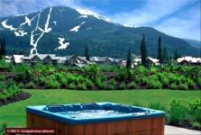 Whistler VRBO Photos of Luxury Rental by Owner at Montebello - Hottub, view, deck
