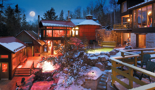 Spa Exterieur Nordique Scandinave Spa Whistler