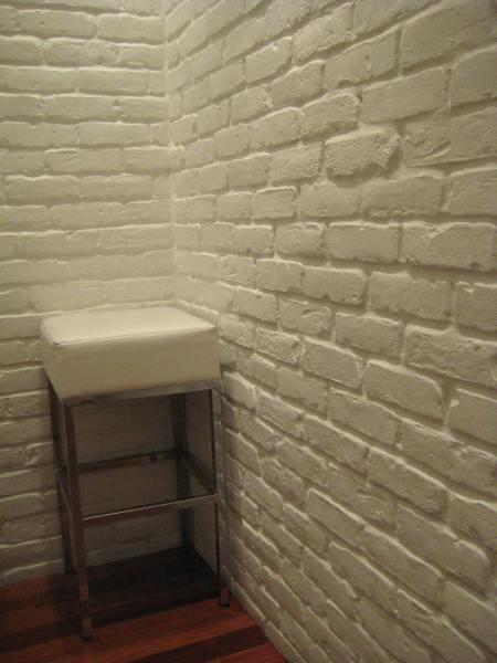 White Brick Paneling