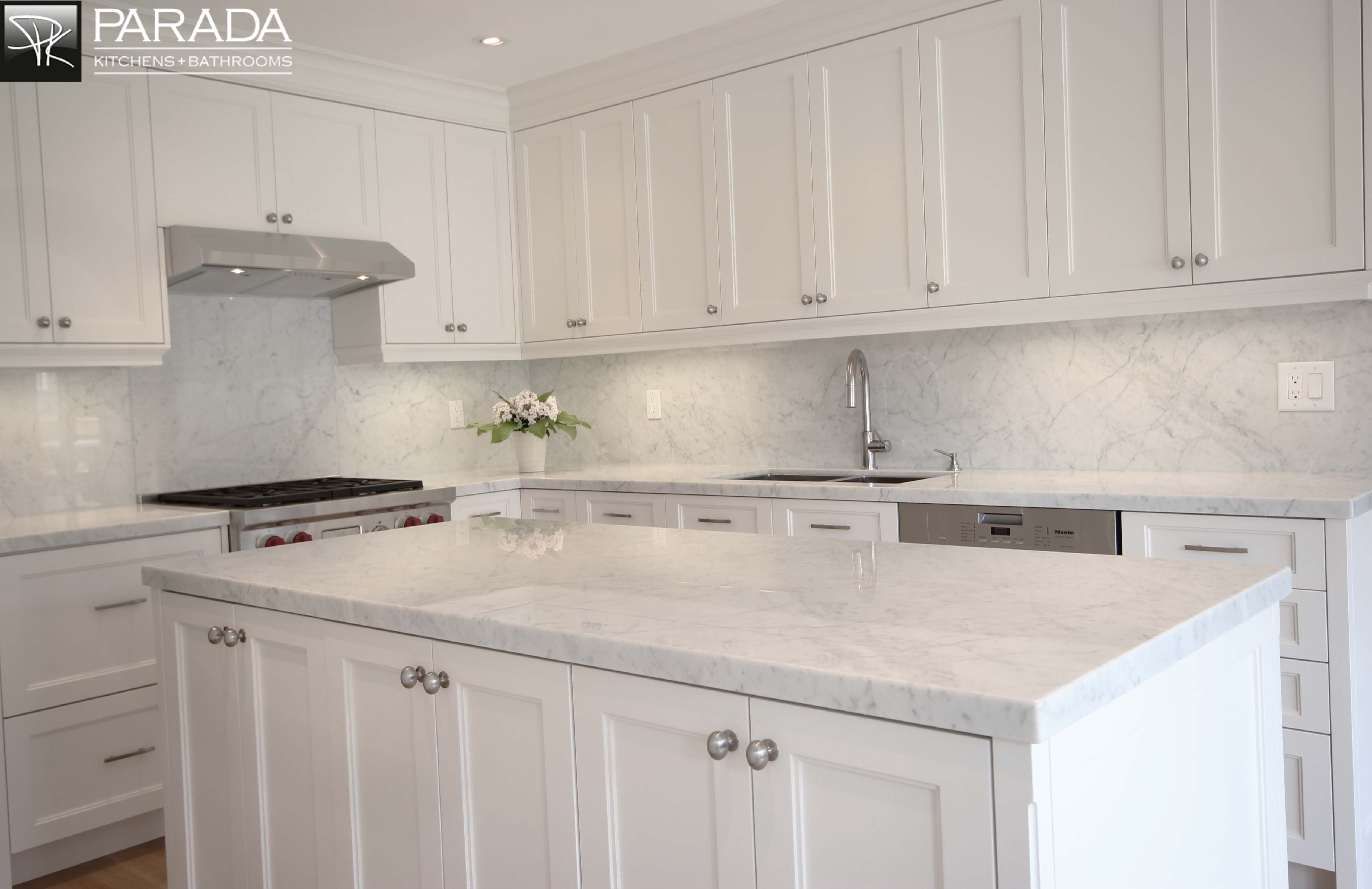All White Kitchens With White Appliances Home White Cabana