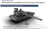 """Rheinmetall's new """"Main Ground Combat System"""" tank concept, which utilizes the 130mm gun."""